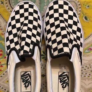 Vans Checkerboard, Women's 8, Men's 6.5